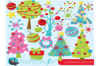 Christmas Decoration Cliparts