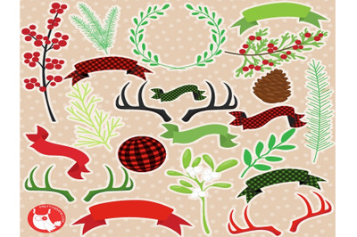 Christmas Element Clipart