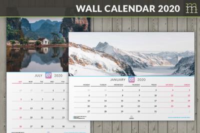 Wall Calendar 2020 (WC014-20)