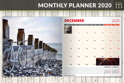 Monthly Planner 2020 (MP017-20-2)
