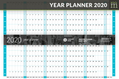 Year Planner 2020 (YP025-20)
