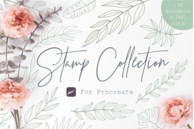 Stamp Collection | Procreate brushes