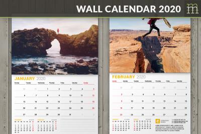 Wall Calendar 2020 (WC027-20)