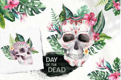 Tropical Day of the Dead