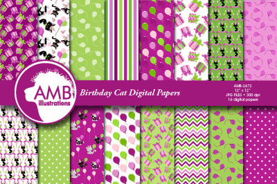 Birthday cat papers anb-267 2