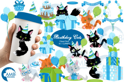 Birthday Boy scenes clipart AMB-2674