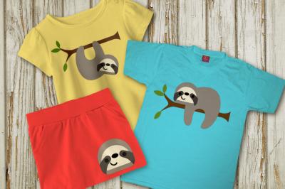 Sloth Set   SVG   PNG   DXF
