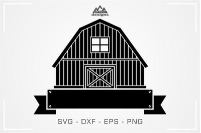 Barn House Farm Svg Design