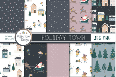 Holiday Town paper