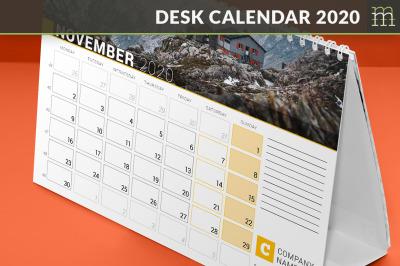 Desk Calendar 2020 (DC034-20)