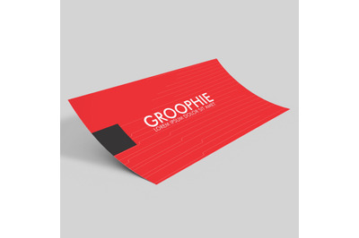 Business Card Mockup - Single Sided