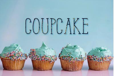 CoupCake Font