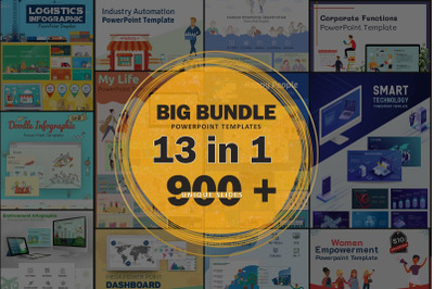 Big Bundles PowerPoint Template