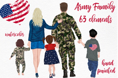 Army Family Clipart Soldier clipart Man in uniform