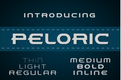 Peloric Font Family (6-Weights)