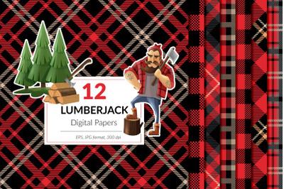 Lumberjack Patterns, Buffalo Plaid