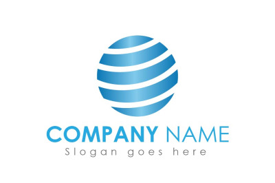 Circle IT Company Logo Design Template