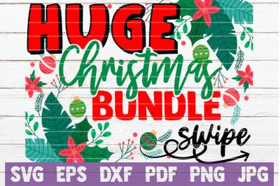 HUGE Christmas Bundle SVG Cut File