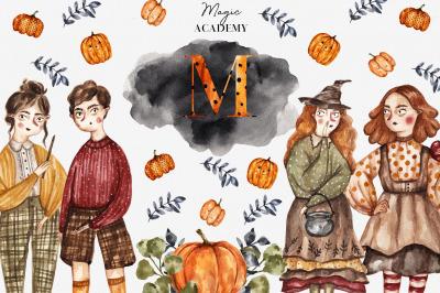 Magic Academy Watercolor Collection