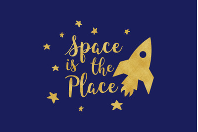 Space Is The Place SVG