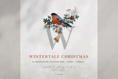 Wintertale Watercolor Christmas
