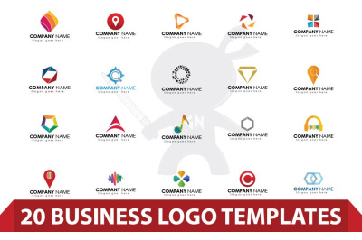 20 Logo Design Template
