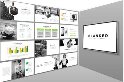 Blanked - Minimal PowerPoint