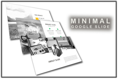 Blanked  Minimal Google Slides