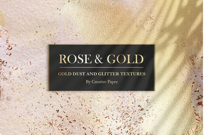 Valentine's Day Rose Gold Watercolor Collection