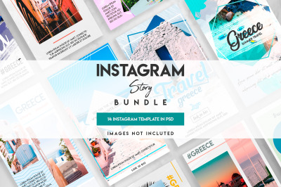 Social Media instagram travel template