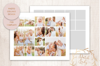 PSD Photo & Image Collage Template #1