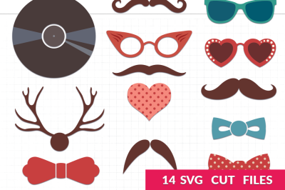 Retro Party SVG Pack