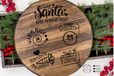 Santa Tray Cut File