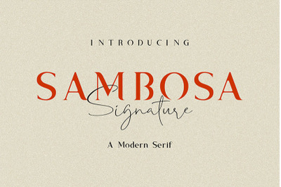 Sambosa with Signature