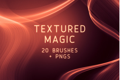 Textured Magic Photoshop Brushes and PNGs