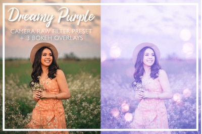 Dreamy Purple Camera Raw Preset
