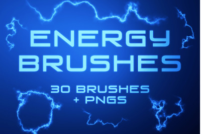 Energy Photoshop Brushes and PNGs
