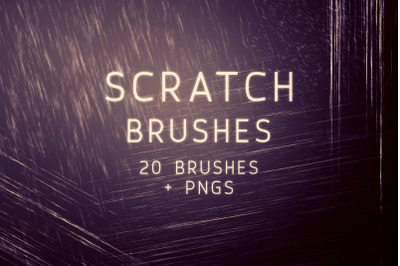 Scratch Photoshop Brushes and PNGs