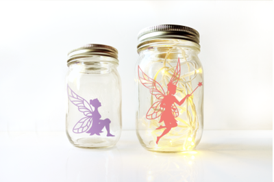 Fairy Silhouettes   SVG   PNG   DXF