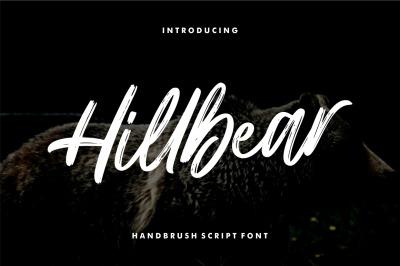 Hillbear - Handbrush Script Font