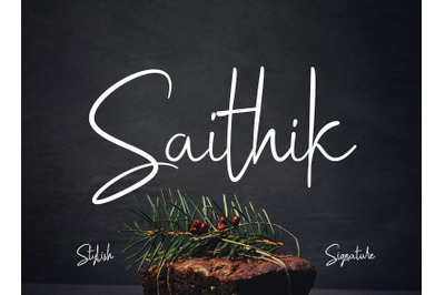 Saithik Stylish Signature