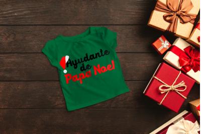 Ayudante de Papa Noel Santa's Helper | SVG | PNG | DXF