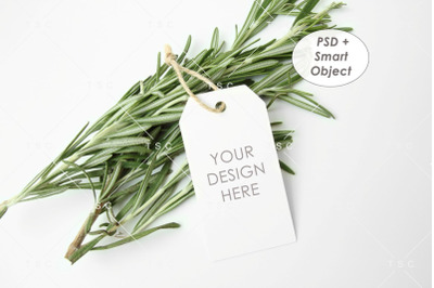 Gift Tag / Thank You Tag / Product Tag / Tag Mockup
