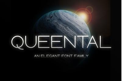 Queental - Elegant Sans Font Family