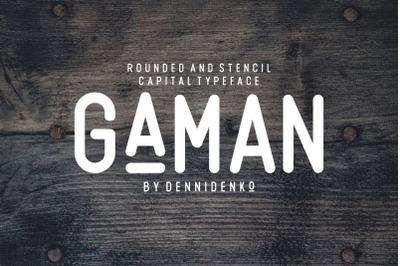 GAMAN TYPEFACE