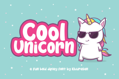Cool Unicorn + Vector