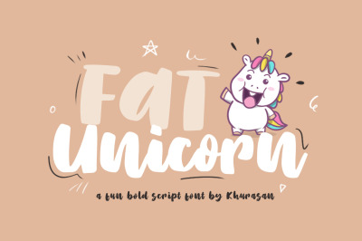 Fat Unicorn + Vector