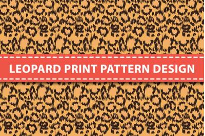 Leopard print pattern design