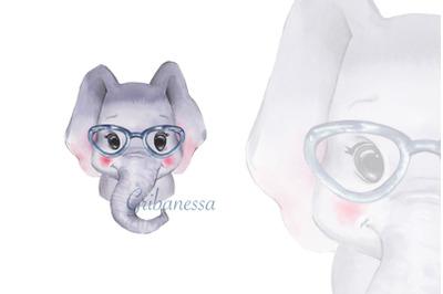 Cute elephant 3