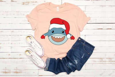 Christmas Shark SVG Bundle Shark Do Do Do Baby Shark 1581s